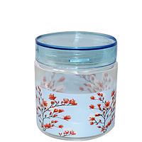 Набор ёмкостей (3 шт) кругл. с пласт. крышкой 0,9л (Красная сакура)