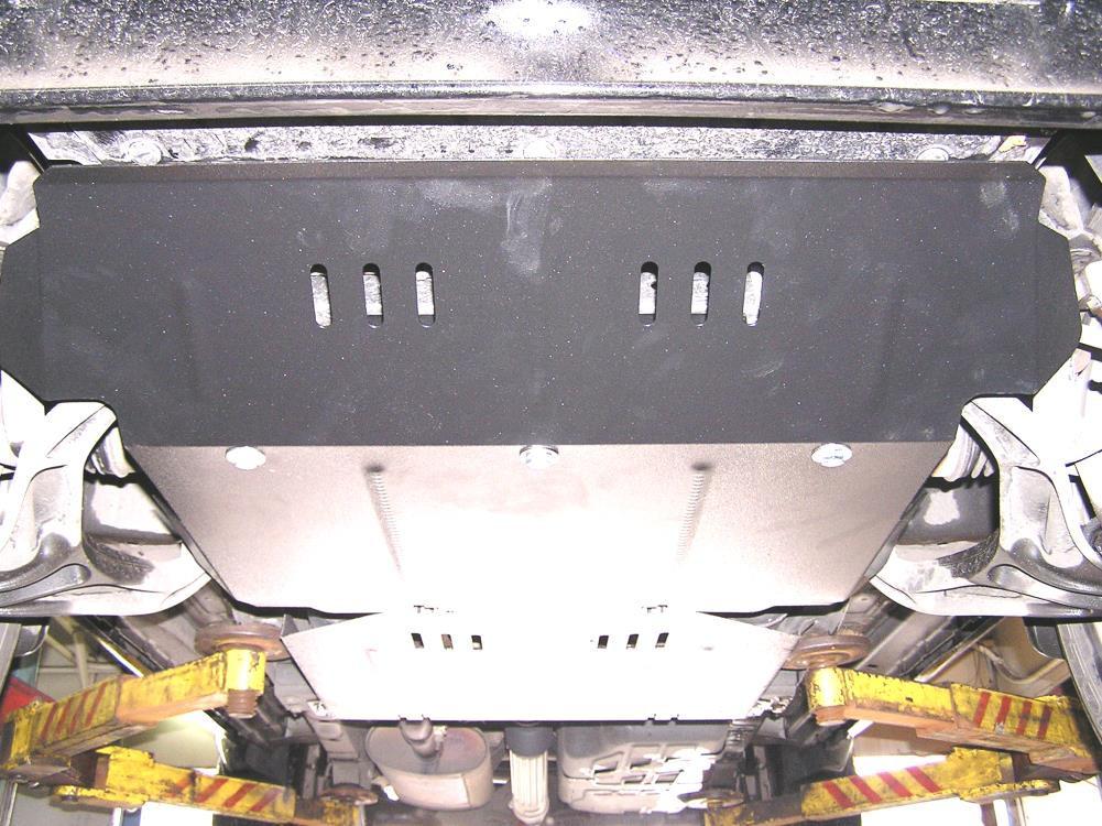 Защита картера Dodge Nitro I2007-2012 V-4,0,АКПП,двигун, КПП, радиатор (Додж Нитро 1)