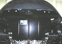 Защита картера Fiat Linea Classic 2007- V-1,4 Б; 1,3 D,МКПП/окрiм 1,6 АКПП,двигун, КПП, радиатор