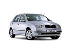Тканевый авточехол FABIA Mk1 цельная 2000-2007