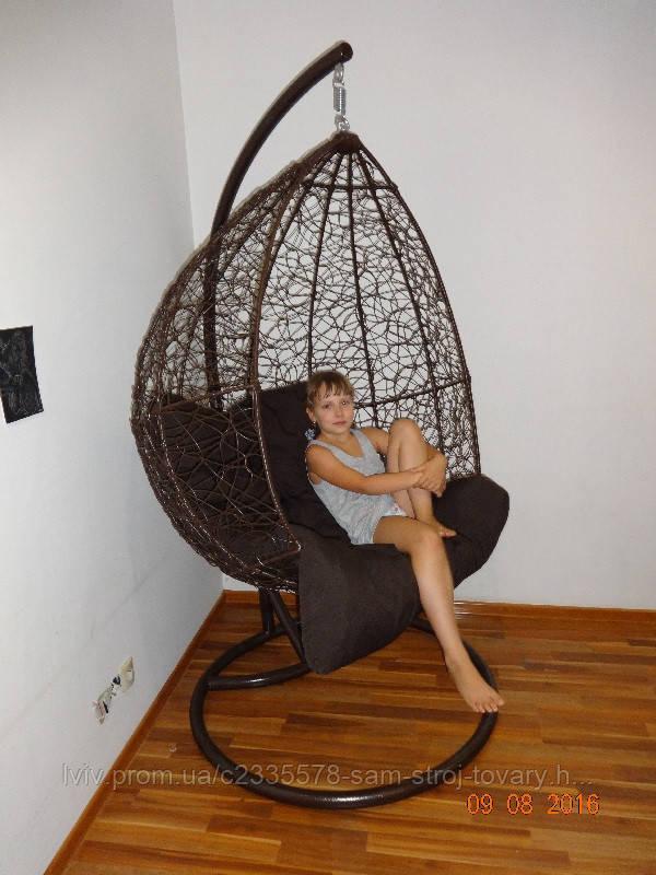 Подвесное Кресло - Качели Из Искусственного Ротанга Gardi
