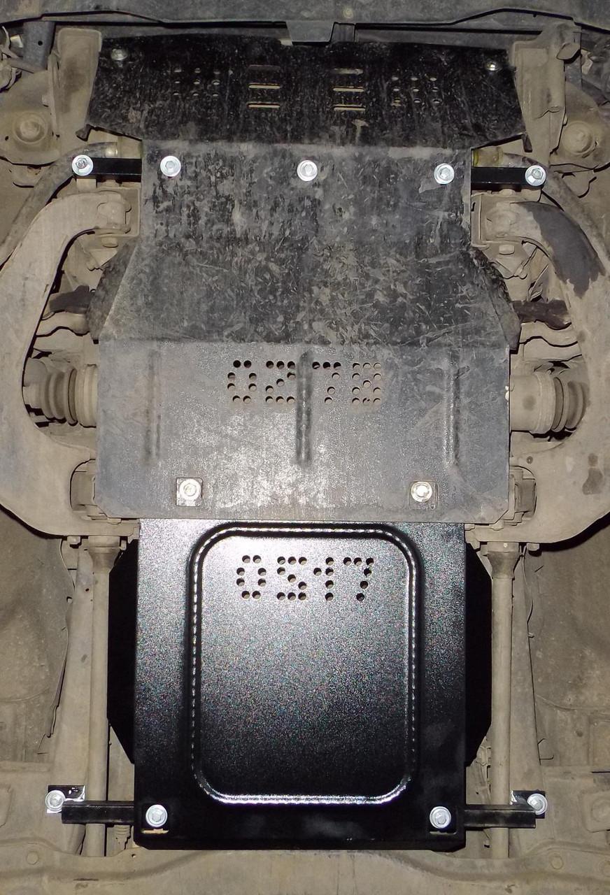 Защита двигателя-оцинкованная Mitsubishi Pajero Sport 2000-2008 V-3,0,МКПП,двигун, КПП, радіатор ( Митсубиши