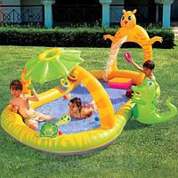 """Детский надувной игровой центр-бассейн BestWay """"Джунгли"""" 290х170х137см."""