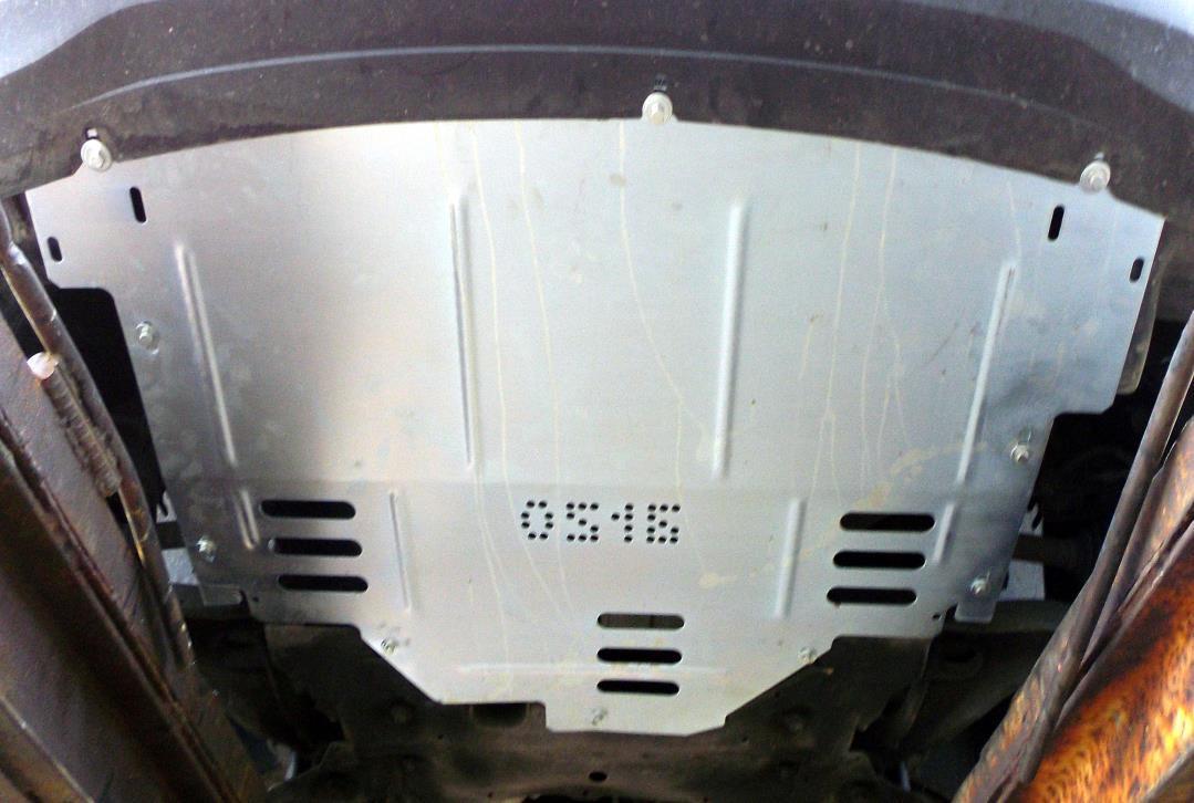 Защита картера Nissan NV400 2010- V-всі,двигун, КПП, радіатор ( Ниссан NV400 ) (Kolchuga)