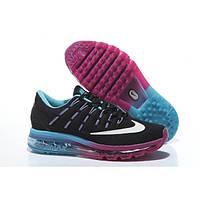 Кроссовки Nike Air Max 2016 Black Water/Blue/Purple женские