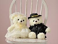 Мишки жених и невеста,25 см