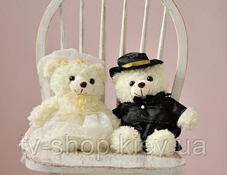 Ведмедики наречений і наречена,25 см