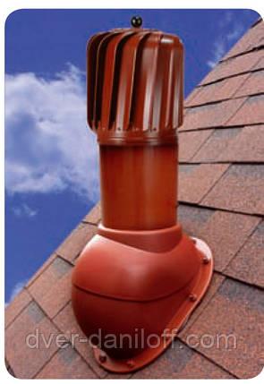Вентиляційні виходи WIRPLAST - TURBO NORMAL для покрівель, бітумна черепиця, профнастил, фальцева покрівля, фото 2