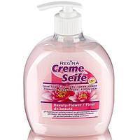 Жидкое концентрированное крем-мыло Regina «Цветы красоты» 500 мл.