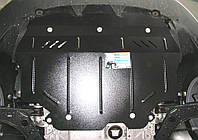 Защита картера Skoda Yeti 2009- V-всі,двигун, КПП, радіатор (Шкода Ети) (Kolchuga)