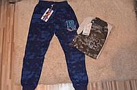 Спортивные брюки на манжете для мальчиков 134-164 см