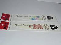 Комплект 2шт пилкы Salon professional,  фигурная c рисунком, 180/240 Natural Care , 120/180., Пилка SALON