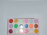 Краски для художника, набор 18 цветов, краски, товары для рисования