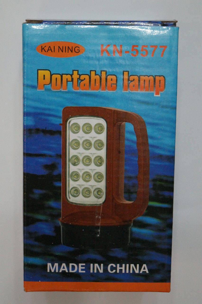 KAI-NING KN-5577 Светодиодный переносной Светильник-Led, переносной, светильник-фонарь, переносное освещение , фото 1