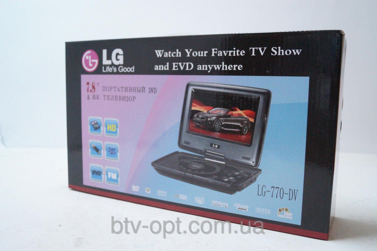 LG 770DV 7.8' DVD Портативный dvd проигрыватель, переносной dvd, портативный, фото 1