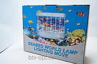 Ночник Аквариум 5L, настольные лампы, ночники, светильники, светотехника, декор