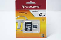 Карта памяти 4GB trancend 4kl, аксессуары для техники, гаджеты, аккумулятор, карты памяти