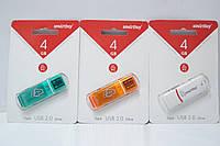 Flash USB 2.0 накопитель Smartbuy-sb4gbgs-g 4GB, аксессуары для ПК, гаджеты, чехлы для планшетов