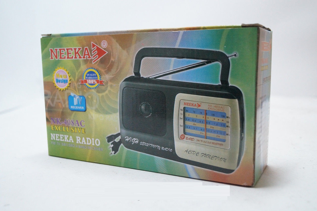 Радиоприемник переносной NEEKA NK-308АC EXCLUSIVE, аудиотехника, приемник, электроника, радиоприемник , фото 1