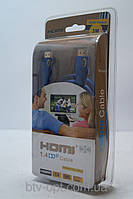 HDMI кабель 3м для ТВ и видео электроники с золотым напылением, HDMI кабель, кабель для ТВ