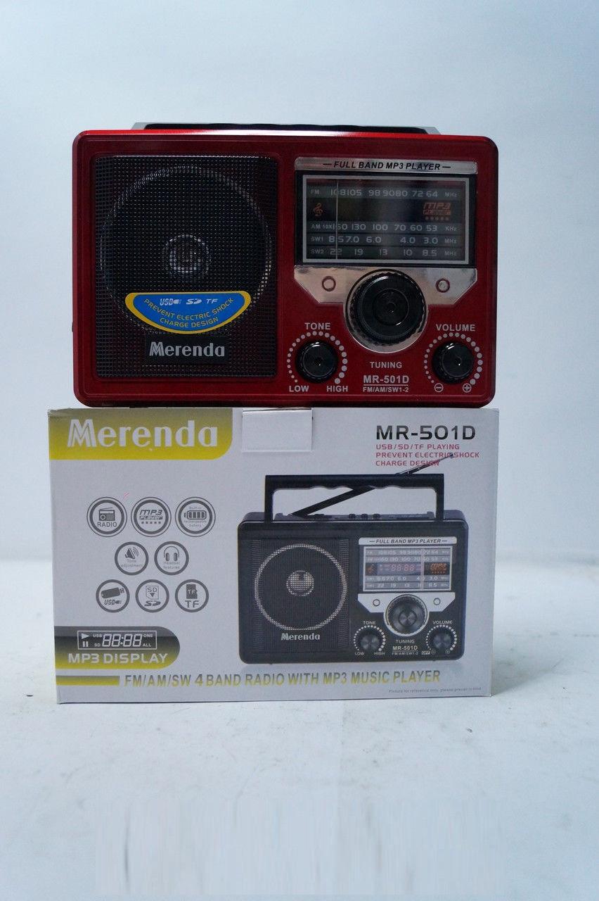 9e112696e381 Радиоприемник Merenda MR-500D SD USB, аудиотехника, электроника, радио,  приемники