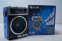 Радиоприемник GOLON RX-078 SD/USB, аудиотехника, электроника, радио, приемники, фото 1