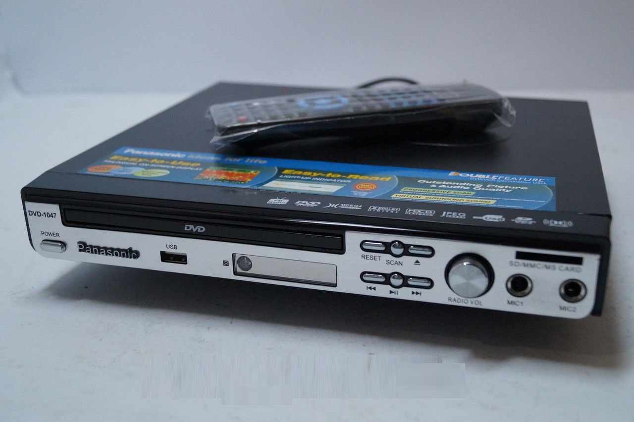 Panasonik 1047 DVD проигрыватель, видеотехника, медиаплееры, Sony , DVD Panasonik, проигрыватель Панасоник, фото 1