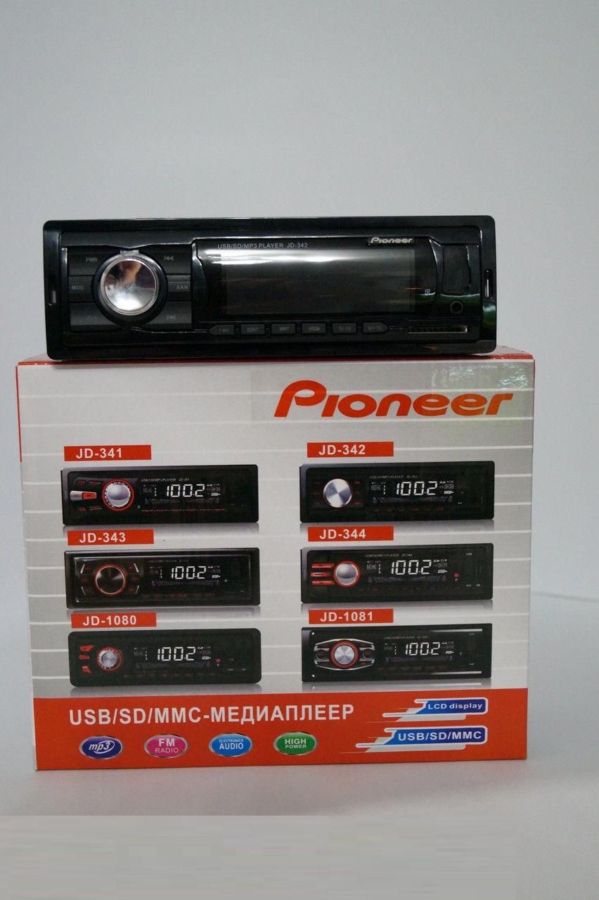 """Автомагнитола Pioneer JD-342 USB SD, аудиотехника, магнитола для авто, аудиотехника и аксессуары, электроника  - """"KOLPORT.COM"""" - Интернет-магазин полезных и качественных товаров! в Киеве"""