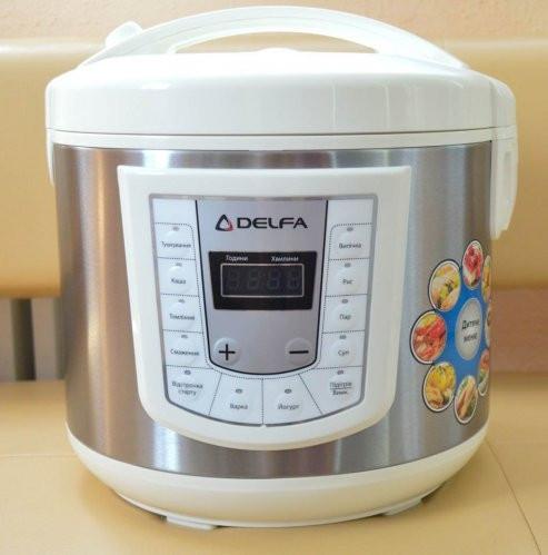 Мультиварка Delfa DMC-10, рисоварки, товары для кухни, скороварка, мелкая бытовая техника, фото 1