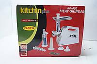 Электрическая мясорубка Kitchin Plus KP-602, миксеры, блендеры , измельчители, кухонная техника, мелкая бытова