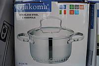 Кастрюля Giakoma 22см 5.1L G-2804-22, кастрюли, нержавеющие кастрюли, сковородки, кухонная посуда, качество