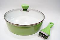 Сковорода Giakoma 24 см G-1018-24, кастрюли, нержавеющие кастрюли, сковородки, кухонная посуда, качество , фото 1