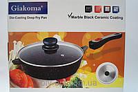 Сковорода Giakoma 28 см G-1033-28 , кастрюли, нержавеющие кастрюли, сковородки, кухонная посуда, качество, фото 1