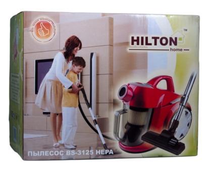 """Пылесос Hilton BS-3125, бытовые пылесосы, бытовая техника для уборки, бытовая техника для дома, недорого  - """"KOLPORT.COM"""" - Интернет-магазин полезных и качественных товаров! в Киеве"""