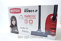 Пылесос Rotex RVB01-P, бытовые пылесосы, бытовая техника для уборки, бытовая техника для дома, недорого