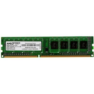 Модуль памяти DDR3 8GB 1600 MHz AMD (R538G1601U2S-UOBULK)
