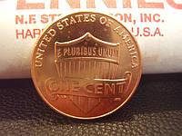 """1 цент США 2010 года, Линкольн """"Щит Союза"""", фото 1"""
