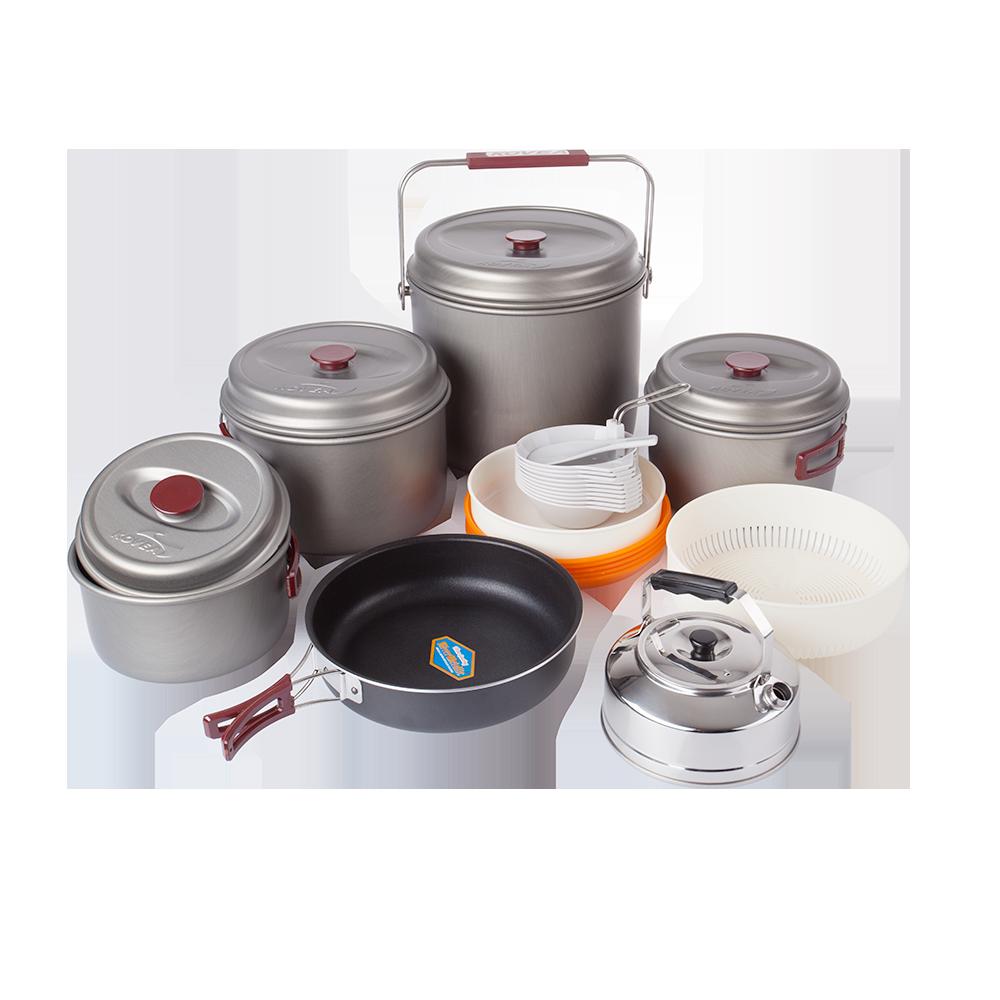 Набор посуды Kovea Hard 10 KSK-WH10 (8806372005597)