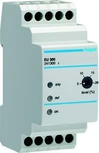 Реле контроля фаз (асимметрии) трёхфазное 2 модуля Hager EU300