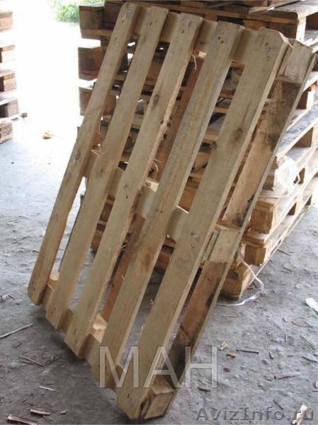 Поддон деревянный облегченный 1200*800 б/у - МАНАТ в Киеве