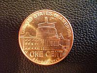 1 цент 2009 года США, «Линкольн, Президентство в Вашингтоне»., фото 1