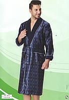 Халат мужской шелковый фирмы NUSA   8015