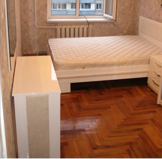Кровать из МДФ крашенного под заказ