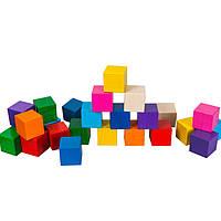 Кубики цветные 25 шт. ТАТО