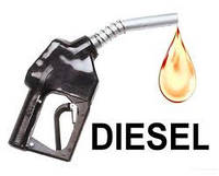 Бак дизельного палива