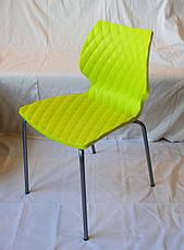 Чехол на нестандартный стул с поясом Бежевый, фото 3
