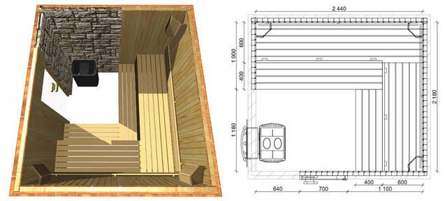 Проекты бань и саун 5