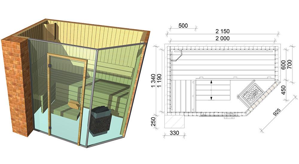 Проекты бань и саун