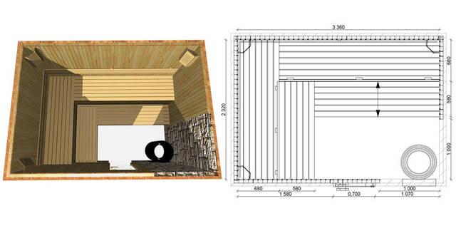 Проекты бань и саун 21