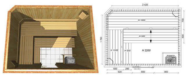 Проекты бань и саун 31